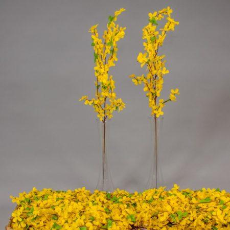 Creanga de salcam galben 70 cm