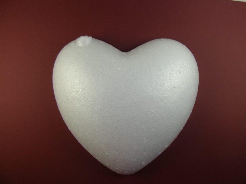 Inima din polistiren 32cm