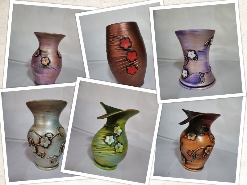 Vaza ceramica 17 cm