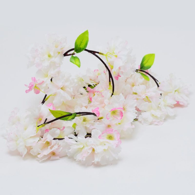 Ghirlanda flori roz 170 cm