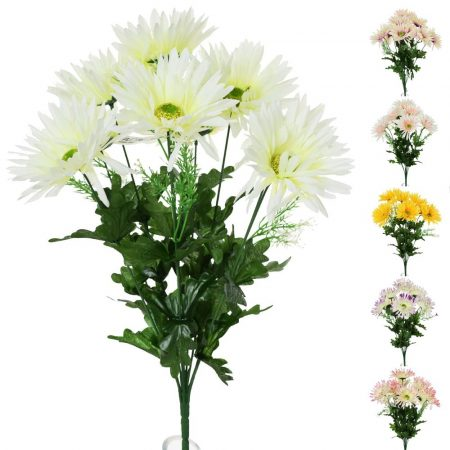 Buchet de crizanteme 45 cm