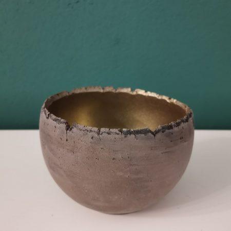 Vas ceramica cu aspect vintage 12 cm
