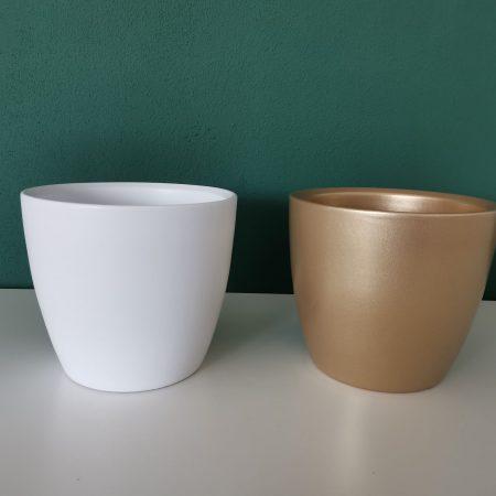 Vase ceramice cu perete ingrosat 15 cm