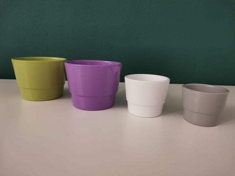Vase ceramice pentru prymula12 cm