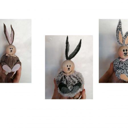 Iepuras handmade 15 x 8 cm