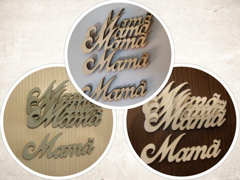 Figurine din lemn Mama 5 buc
