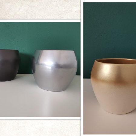 Vase ceramice rotunde 1buc