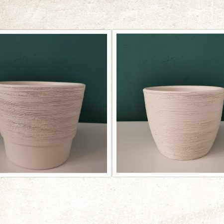 Vase ceramice cu gravuri 1buc