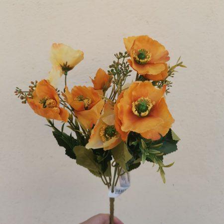 Mac portocaliu 37 cm