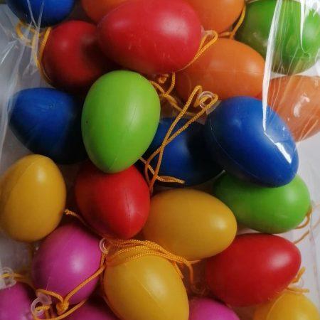 Set oua cu agatatoare multicolor 24buc