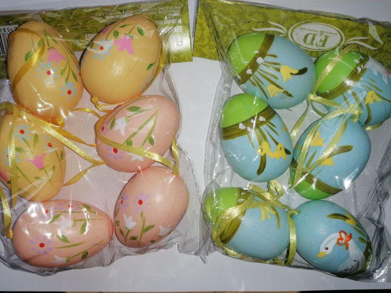 Set oua cu agatatoare 4cm x 6 cm