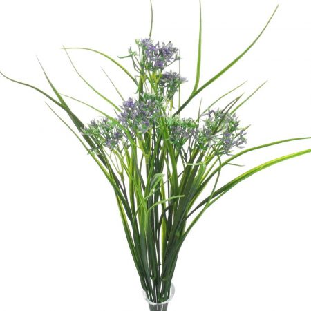 Verdeata cu floricele mov 45 cm
