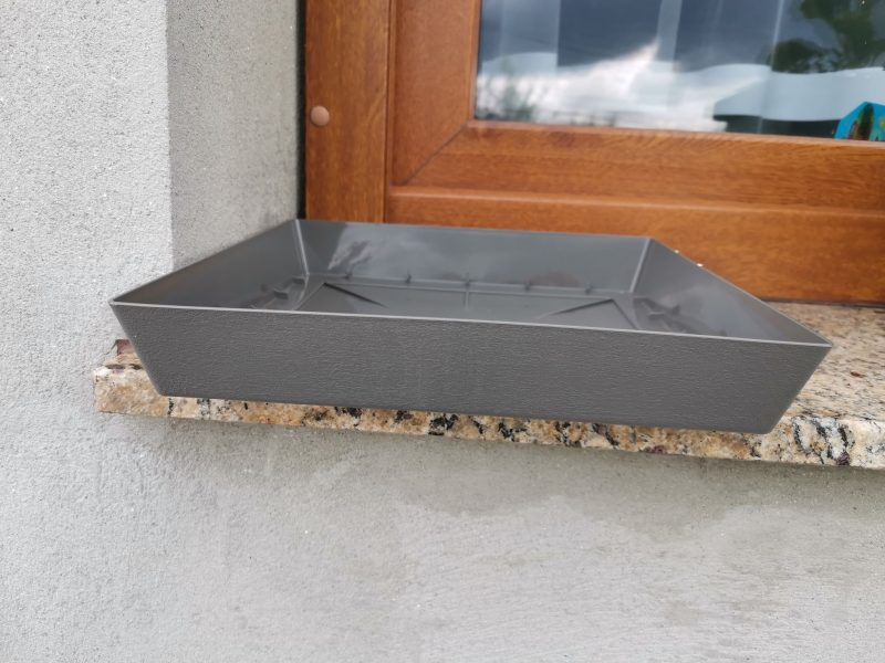 Farfurie ghiveci patrata 24.5 cm