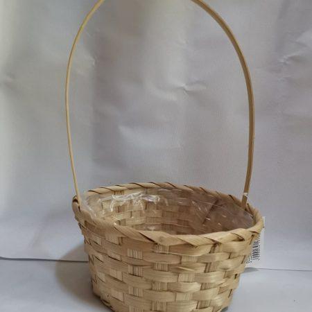 Cosulet din bambus natur 21 cm