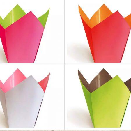 Cutie carton pentru ghiveci 1buc