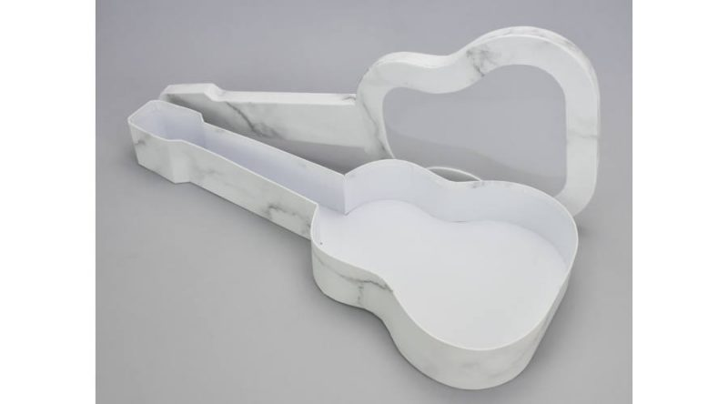 Cutie in forma de chitara -