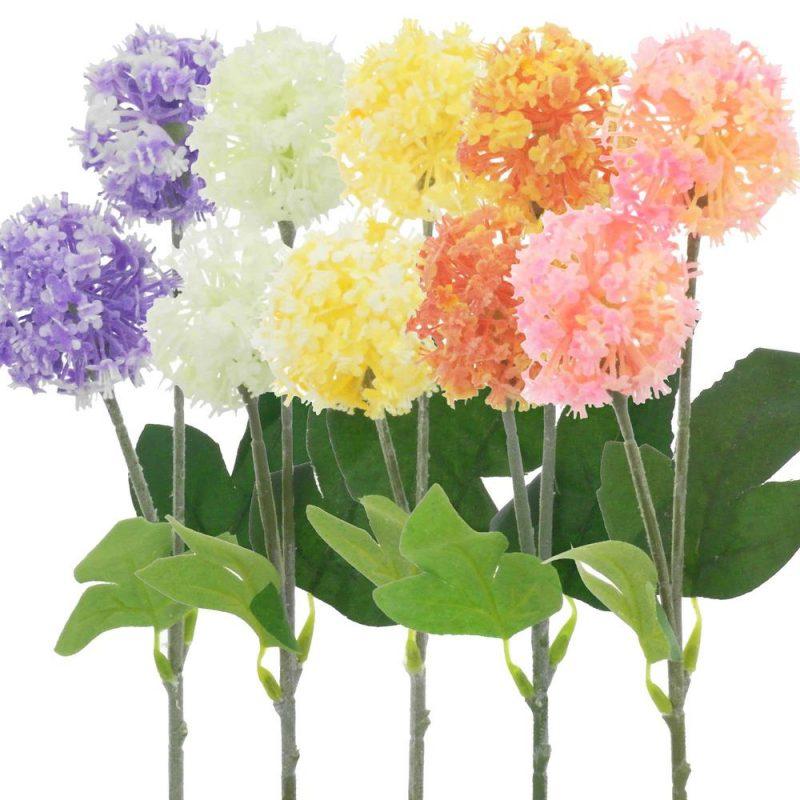 Floare rotunda la fir 35cm