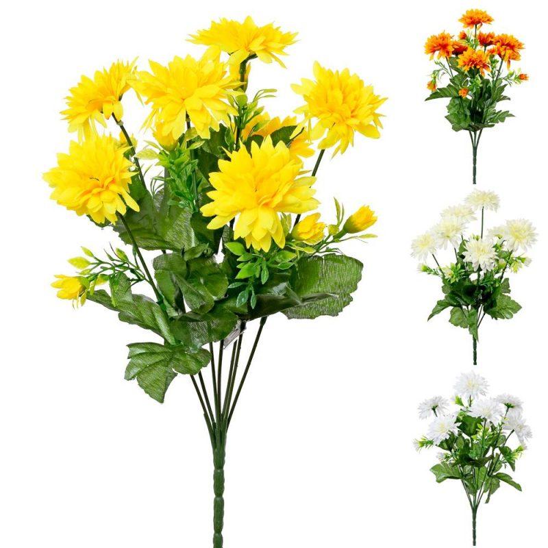 Buchet crizanteme 35 cm