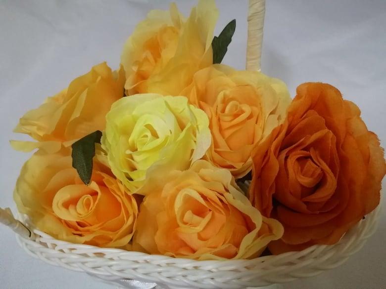 Cap trandafir 9 cm -