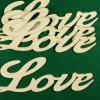 Figurine din lemn- LOVE-