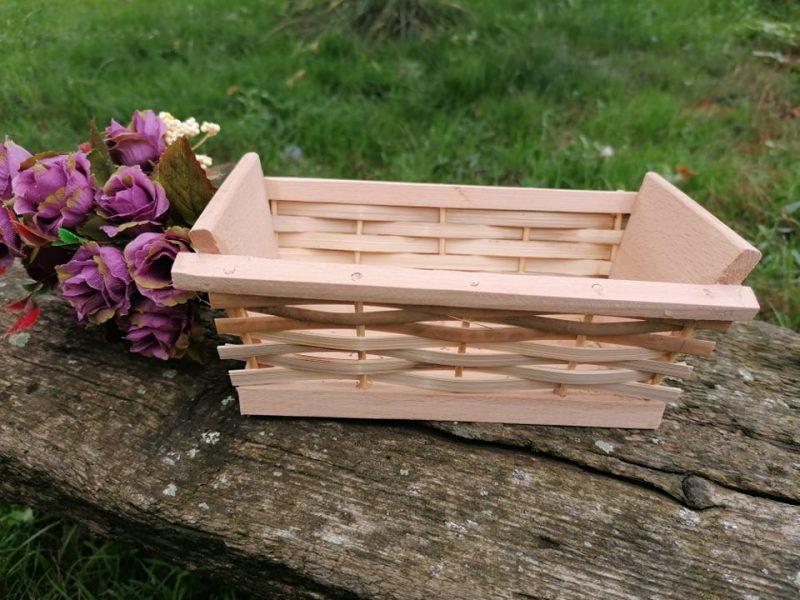 Jardiniera din lemn 19 cm
