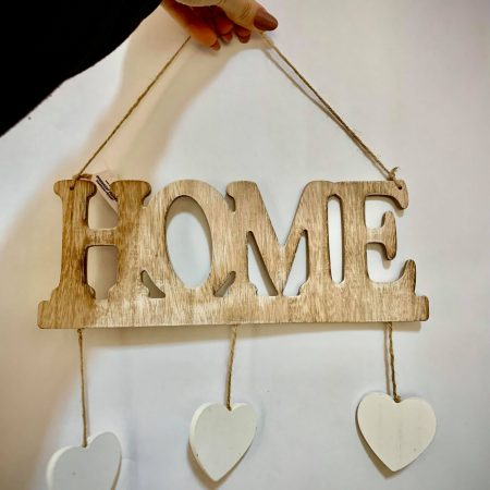 "Decoratiune usa ""Home"" 1 buc"