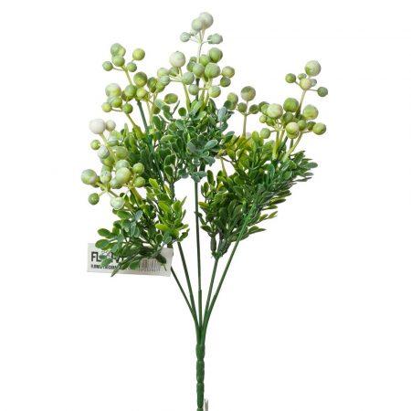 Buchet verdeata cu bobite 30 cm