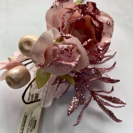 Pick decoratiune roz 15 cm